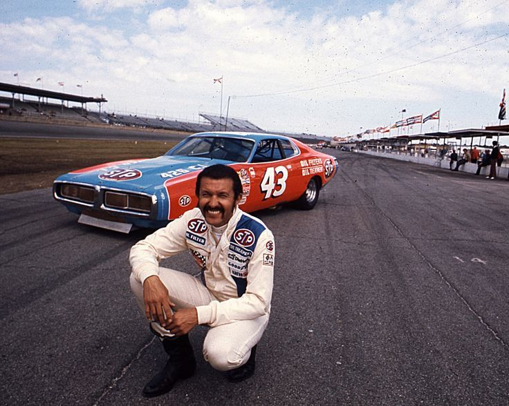 Richard Petty and #43 in 1971